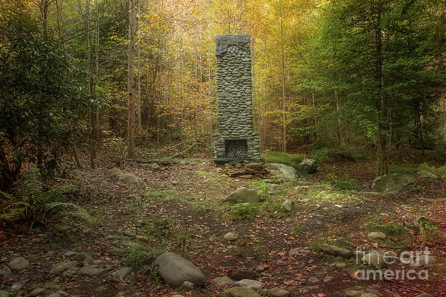Elkmont Chimney Remains 10 Photograph By Mike Eingle