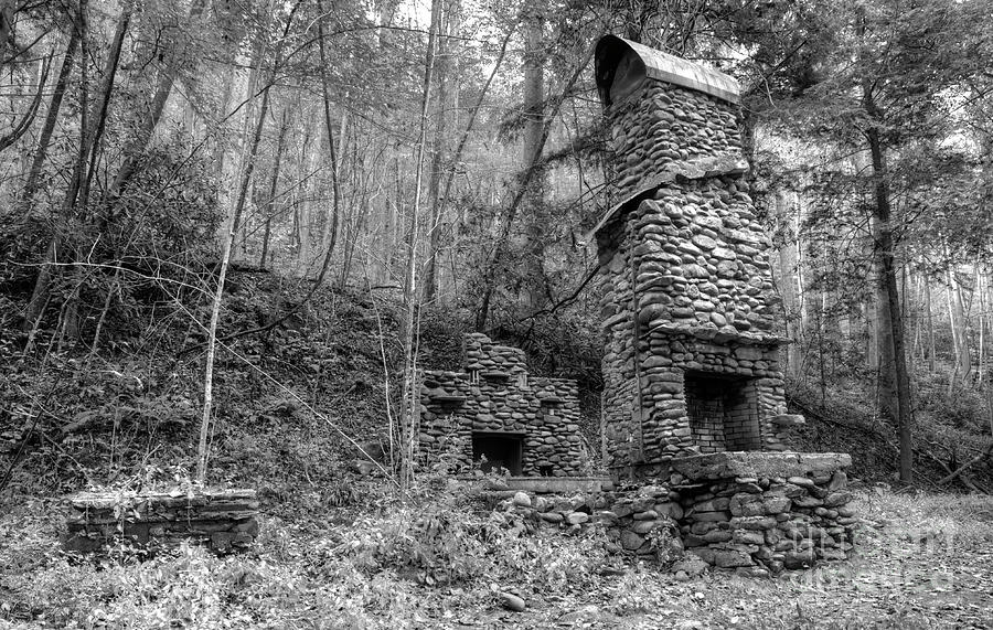 Elkmont Chimney Remains 12 Photograph By Mike Eingle