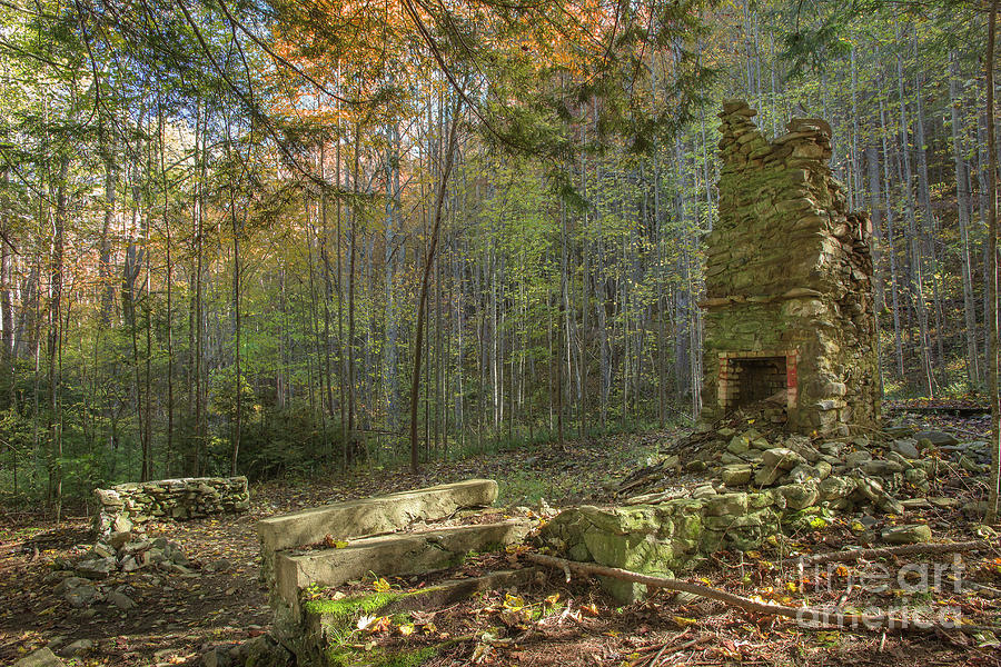 Elkmont Chimney Remains 2 Photograph By Mike Eingle