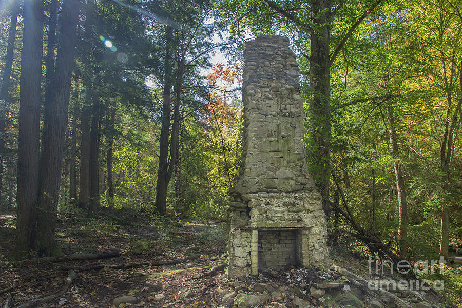 Elkmont Chimney Remains 7 Photograph By Mike Eingle