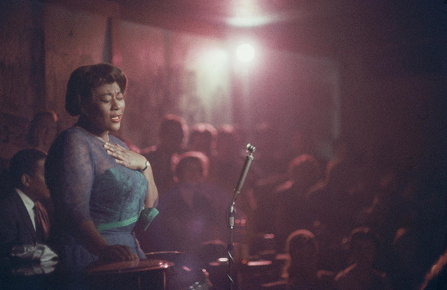 Ella Fitzgerald Performs Photograph by Yale Joel