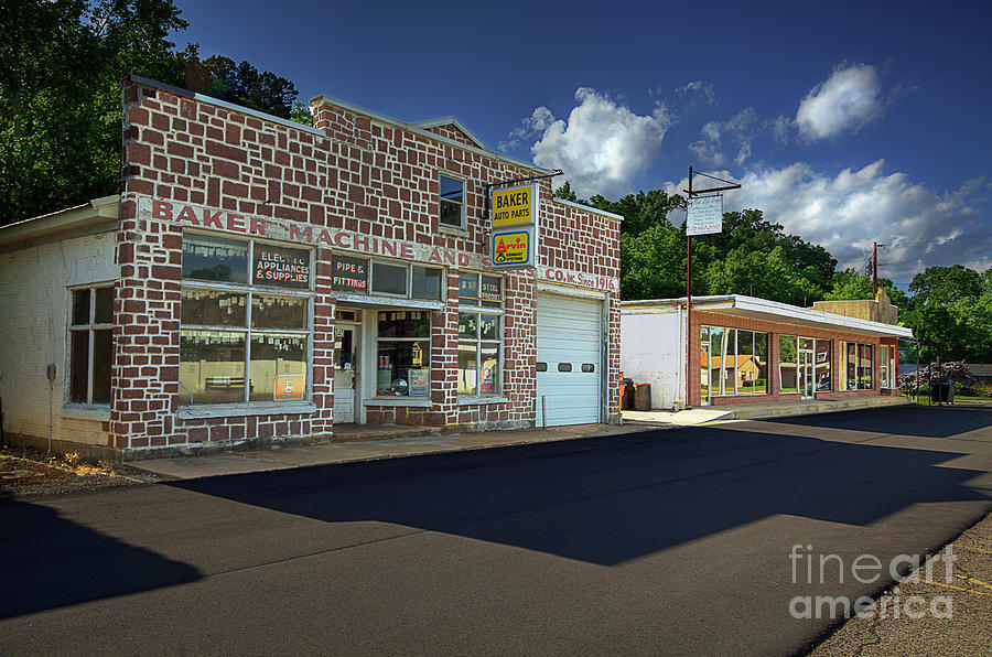 Travel Photograph - Ellington Missouri  by Larry Braun