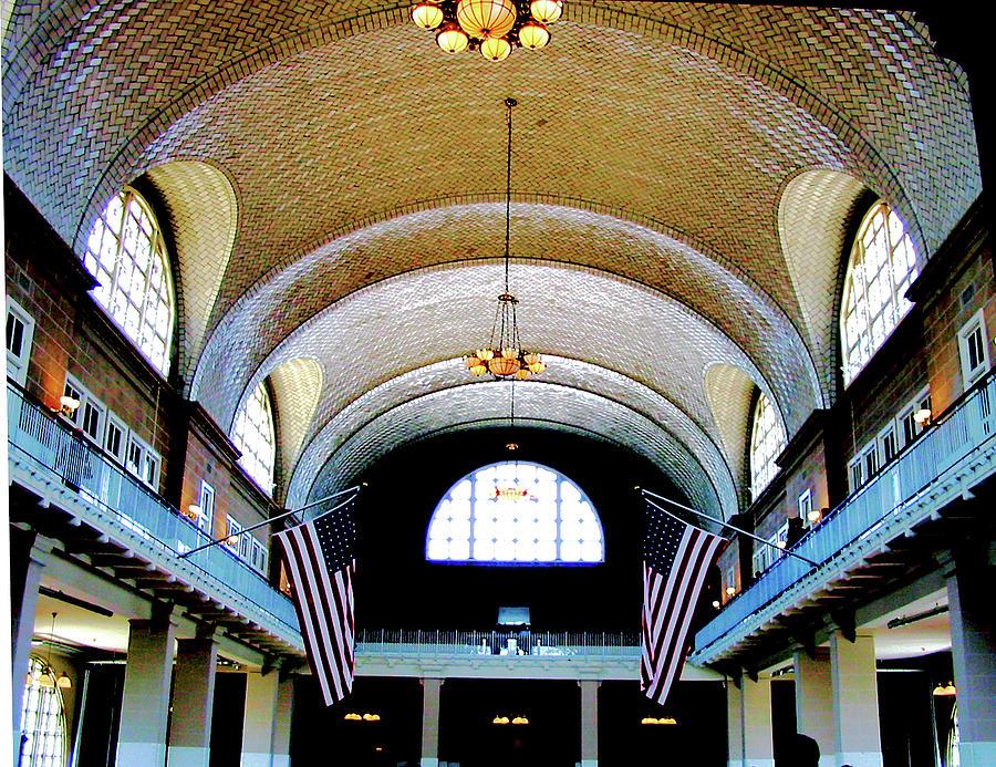 Ellis Island Interior Photograph