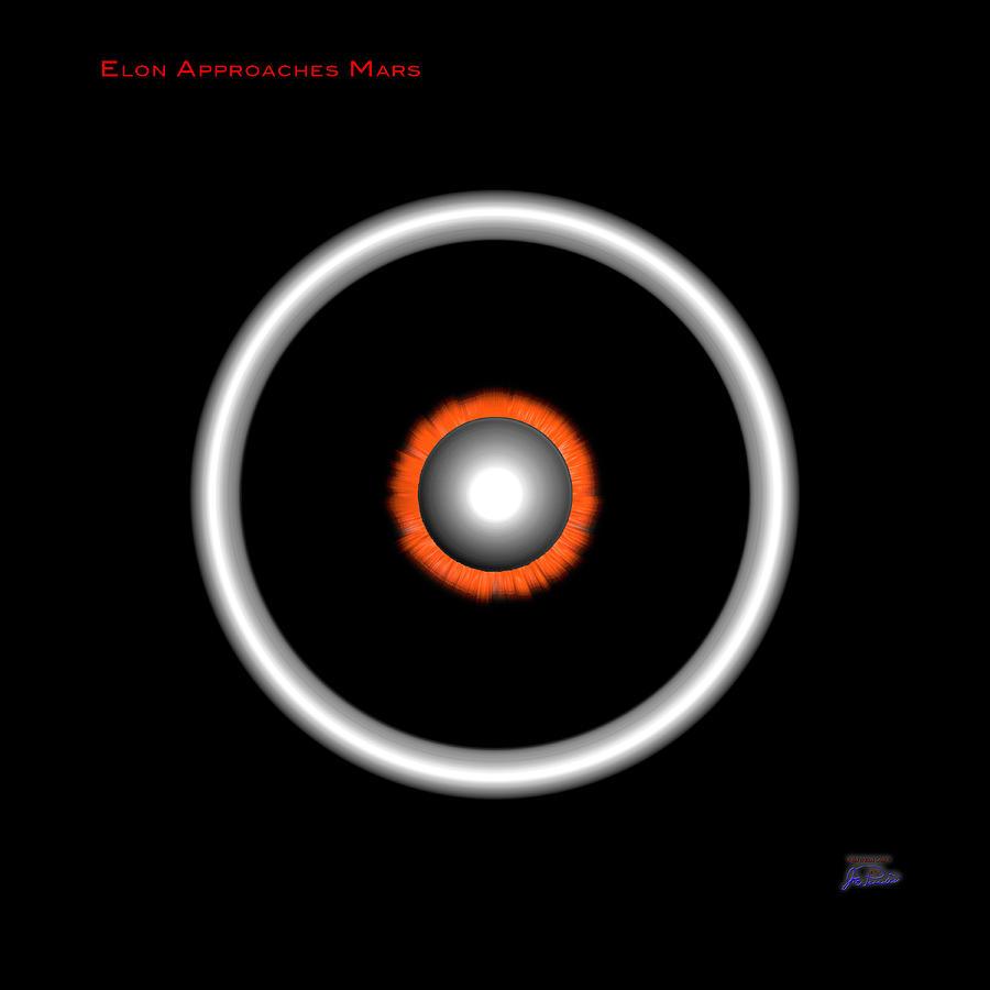 Elon Approaches Mars by Joe Paradis