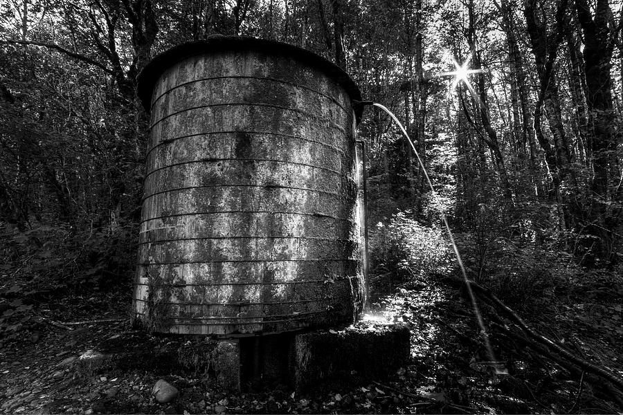 Elowah Trail Wooden Water Tank by Mark Kiver