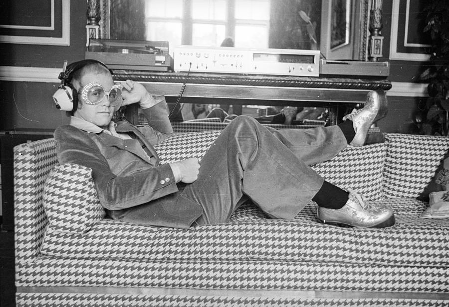 Elton John Photograph by D. Morrison