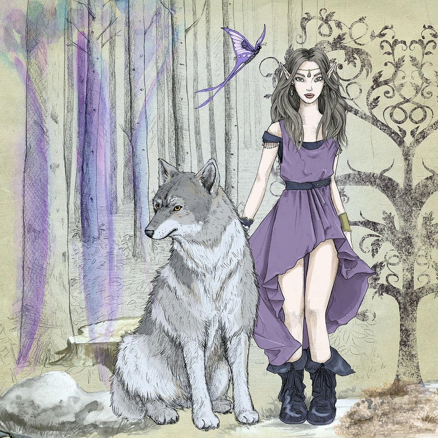 Elve and the Wolf by Carlene Smith