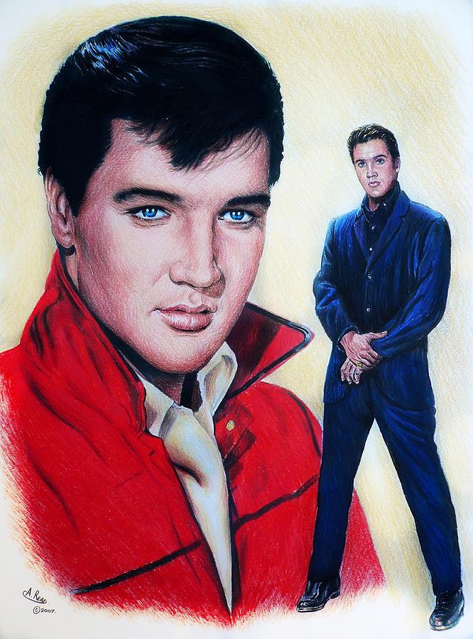 Elvis Drawing