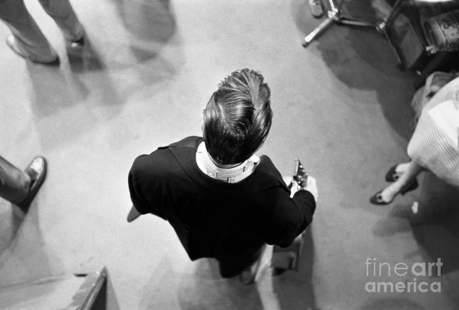 Elvis Backstage Photograph by Alfred Wertheimer