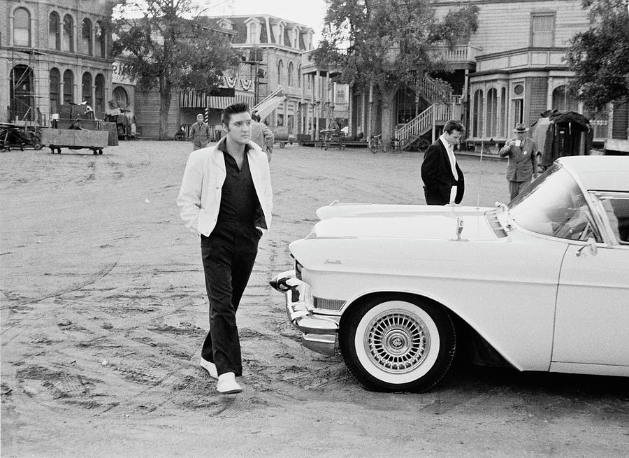 Elvis On Set Photograph by Archive Photos