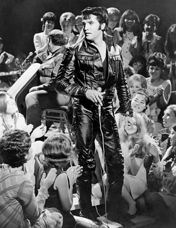 Elvis Presley 68 Comeback Special Photograph by Michael Ochs Archives