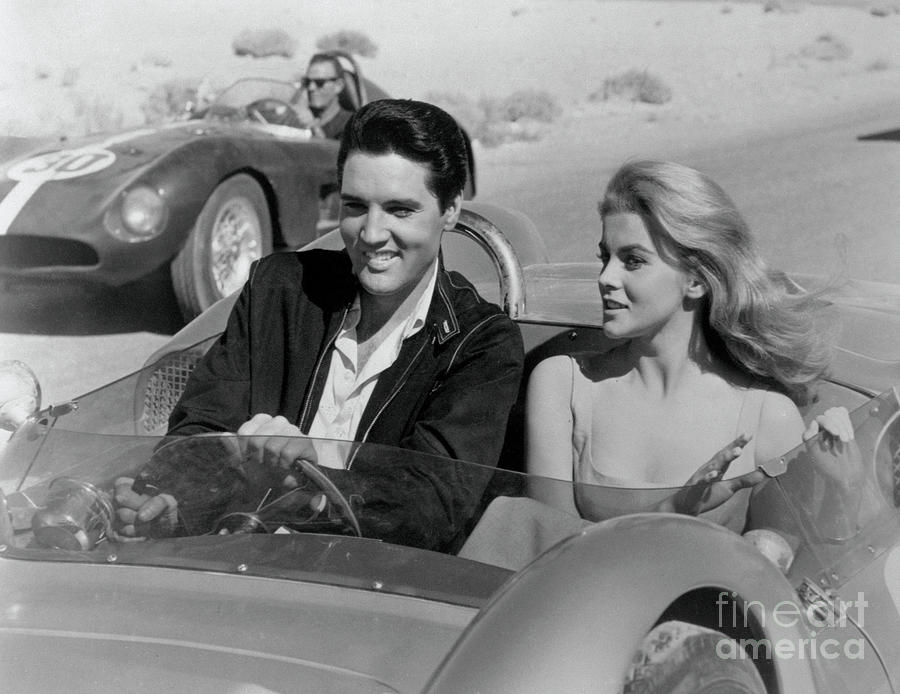 Elvis Presley And Ann-margret Photograph by Bettmann