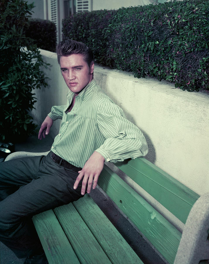 Elvis Presley Photograph by Archive Photos