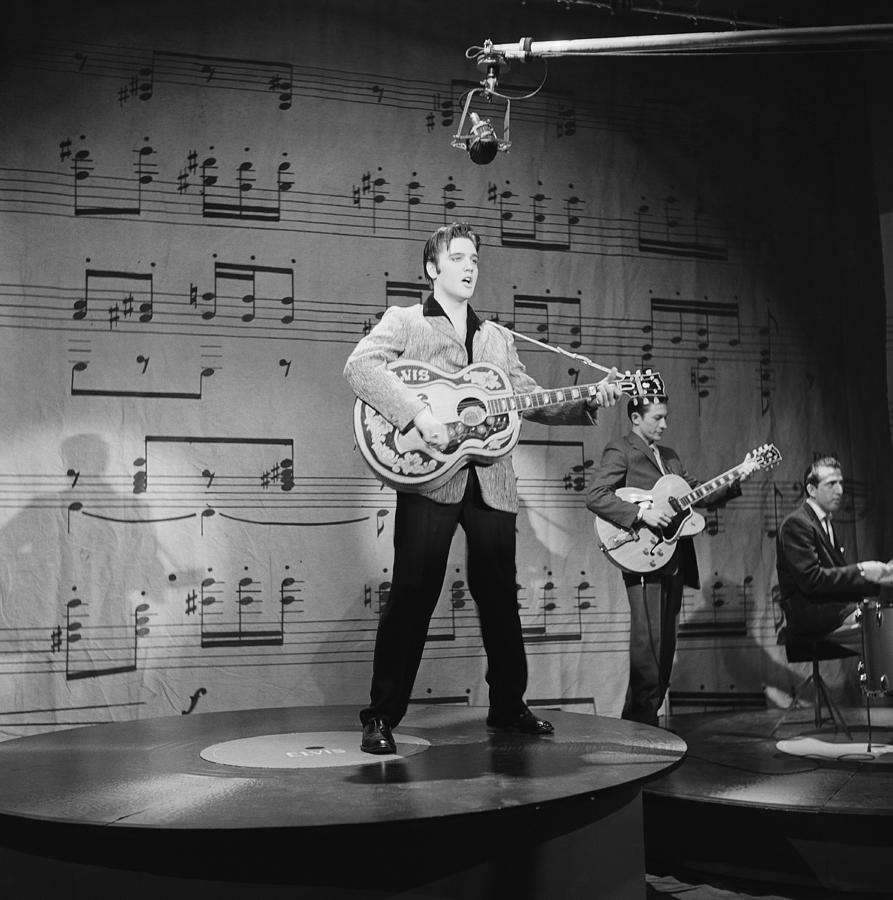 Elvis Presley On Ed Sullivan Photograph by Michael Ochs Archives