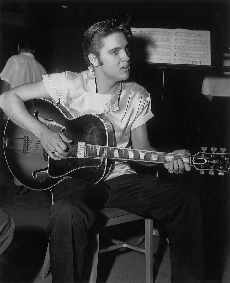 Elvis Presley Records Love Me Tender Photograph by Michael Ochs Archives