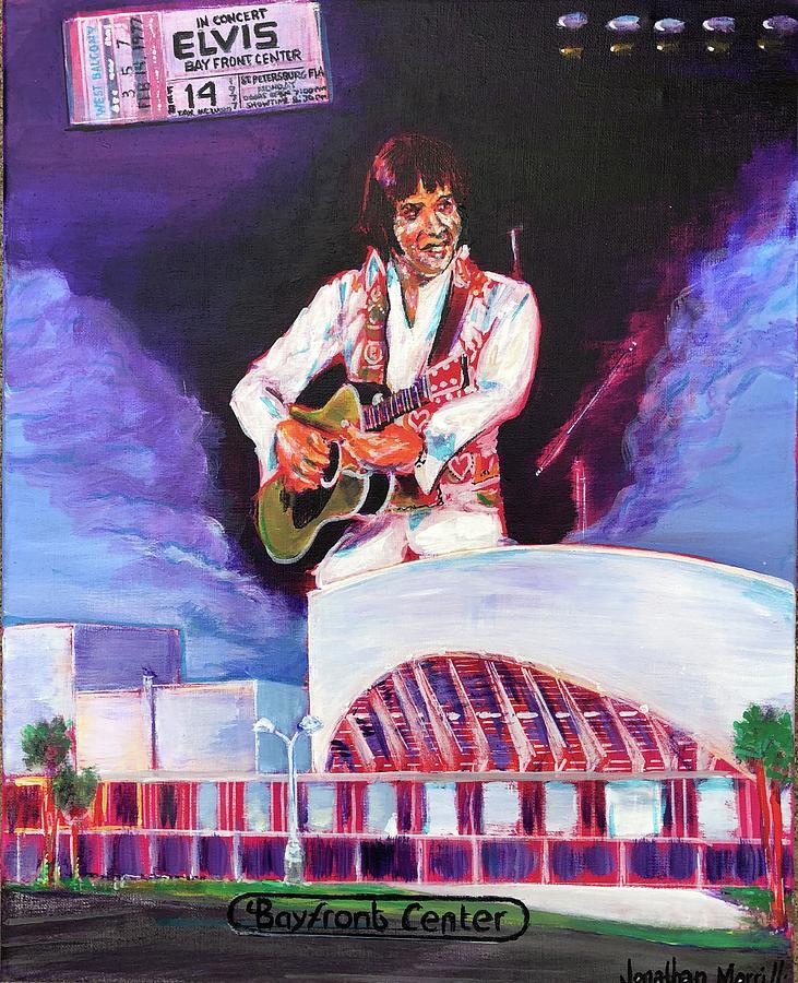 Elvis 1977 Pastel by Martha Suhocke  |1977 Elvis Painting