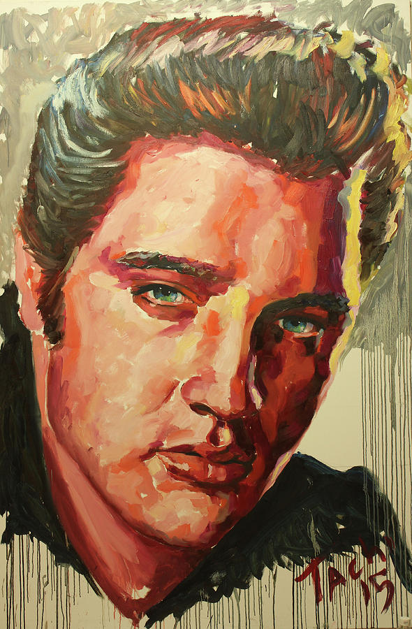 Elvis by Tachi Pintor