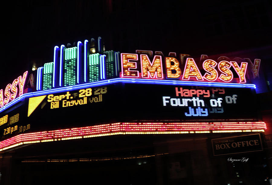 Embassy Marquee by Suzanne Gaff