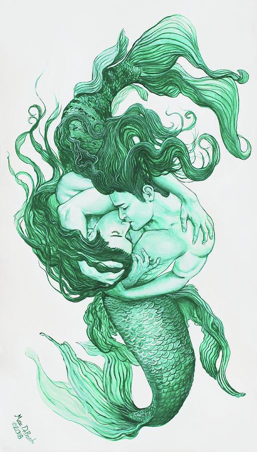 Embracing Mermen by Marc DeBauch