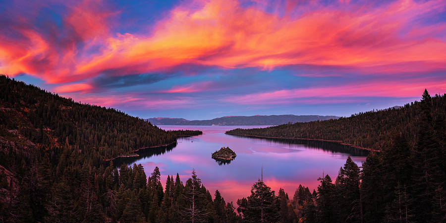 Emerald Bay Explode by Brad Scott