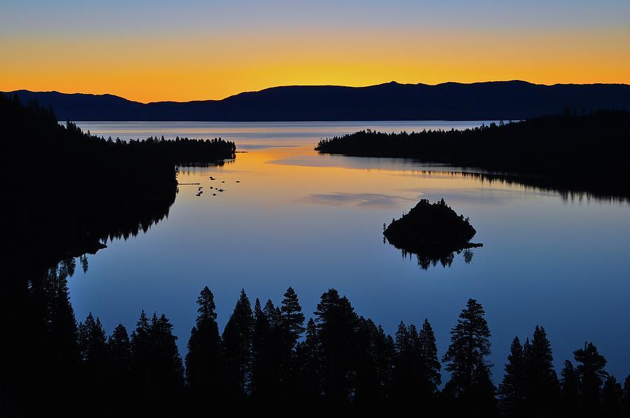 Emerald Bay Sunrise, Lake Tahoe, Ca Photograph by Stevedunleavy.com