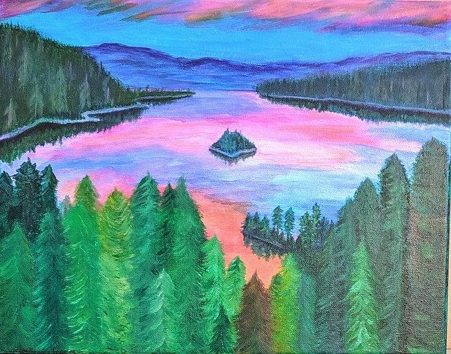 Emerald Bay, Tahoe by Gail Friedman