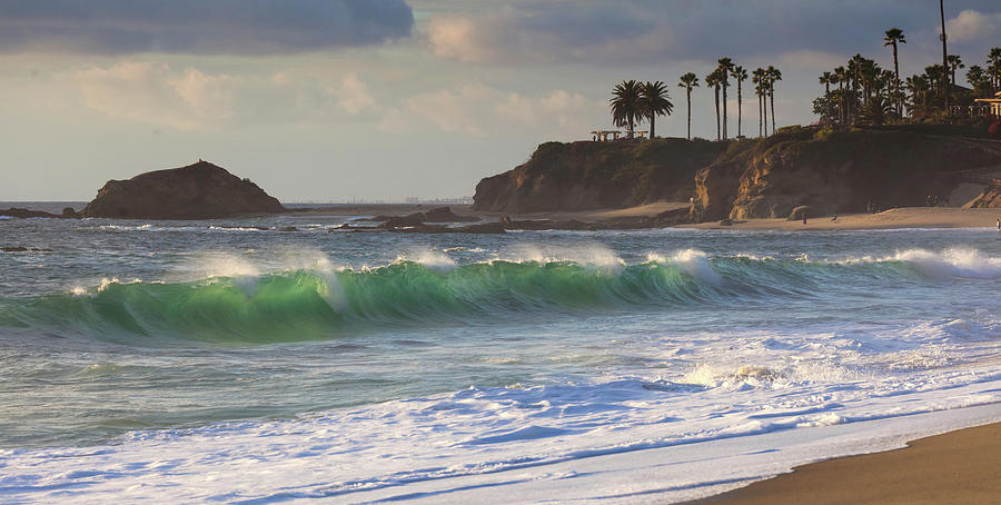 Emerald Green Surf by Cliff Wassmann