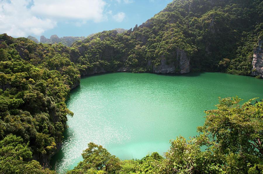 Emerald Lagoon Photograph by Nadzeya kizilava