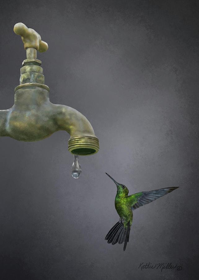 Emerald Sprite by Kathie Miller