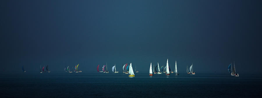 Sailing Photograph - Emerge by Gregory Evans