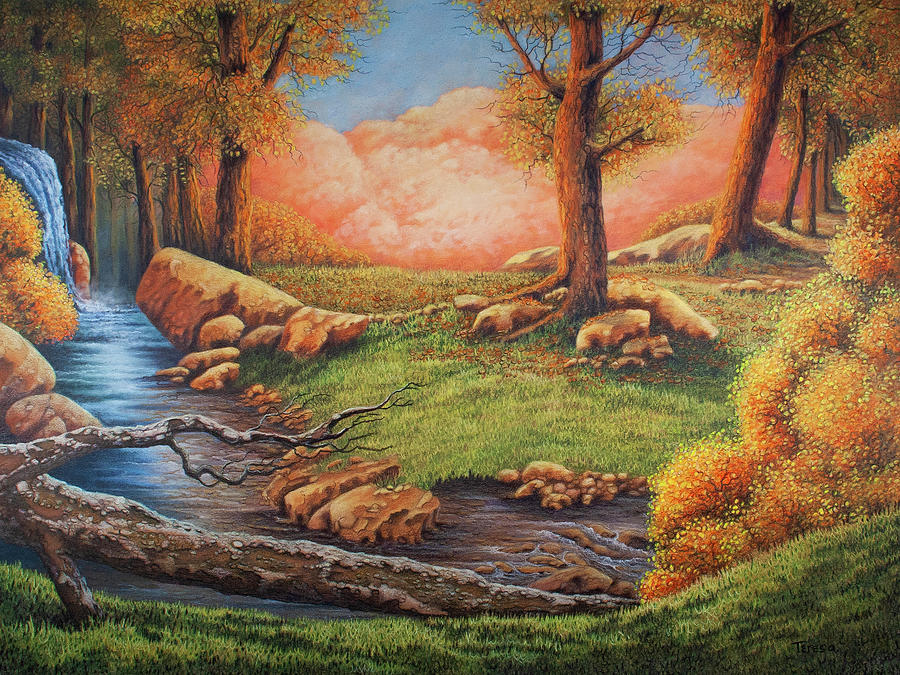 Emergence of Autumn by Teresa Frazier