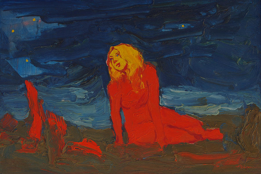 Emerging from the Depth of the Primary Colors by Michael Shipman