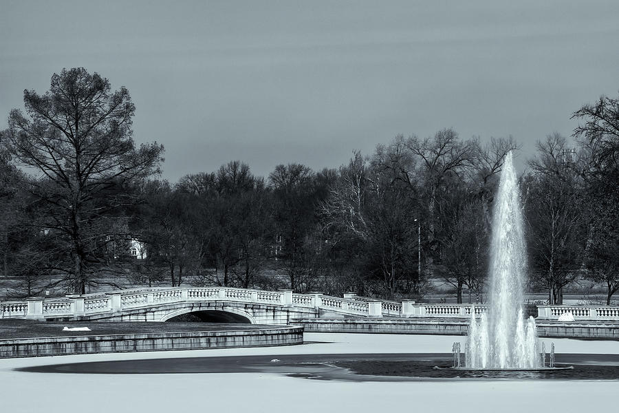 Emerson Grand Basin Fountain and Bridge by Robert FERD Frank