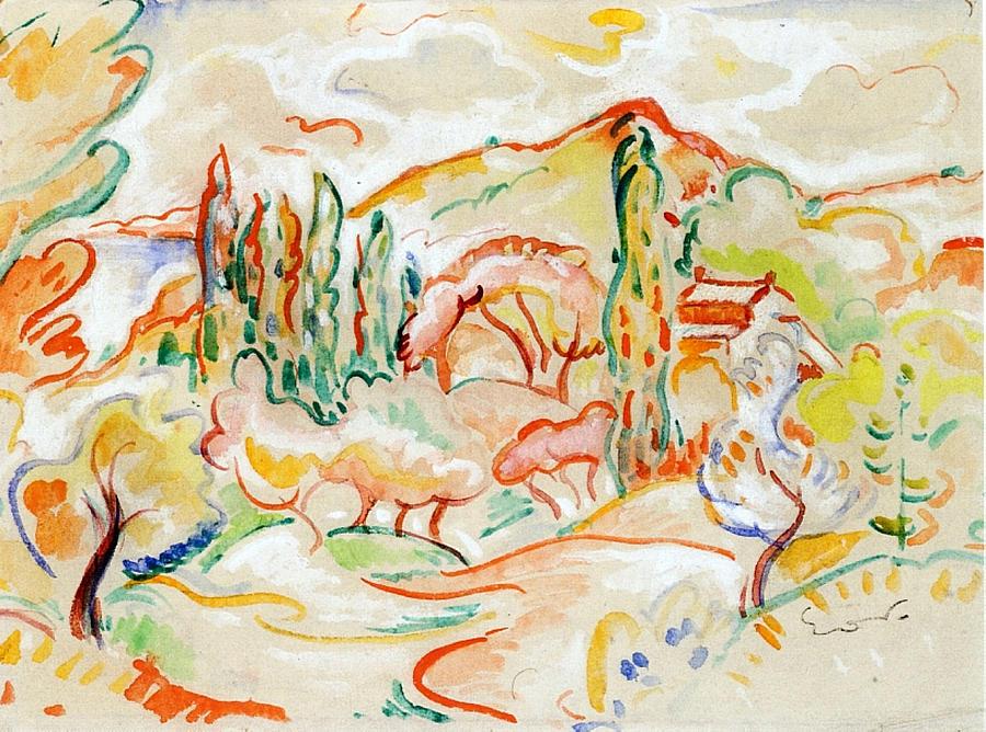 La Ciotat Painting - La Ciotat, 1907 by Emile-Othon Friesz