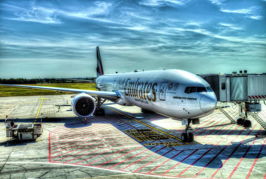 Emirates Boeing 777 Photograph