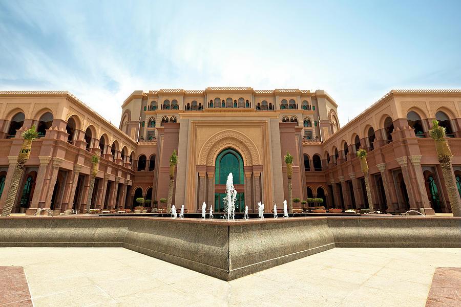 Emirates Palace Abu Dhabi Photograph by 35007