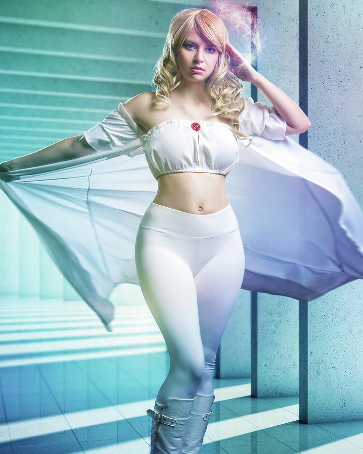 Emma Frost 2 Photograph By The Cosplay Hobbyist