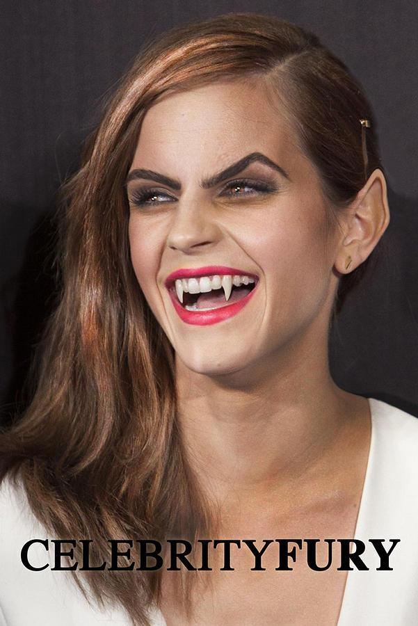 Emma Watson hair Digital Art by Queso Espinosa