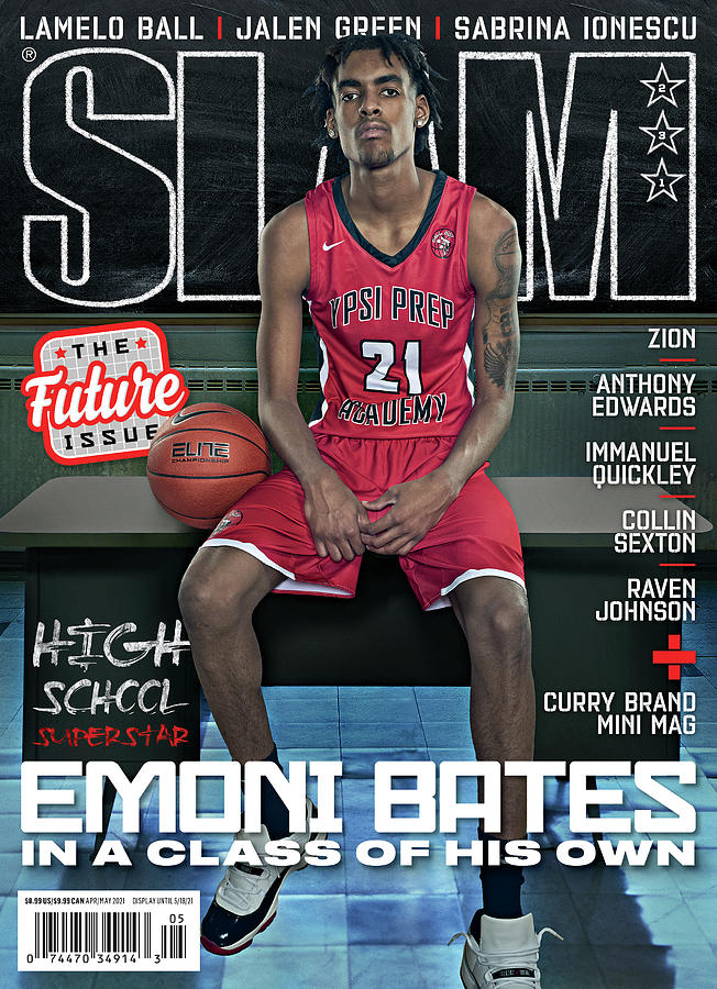 Emoni Bates: In a League of His Own SLAM Cover Photograph by Pier Nicola D Amico