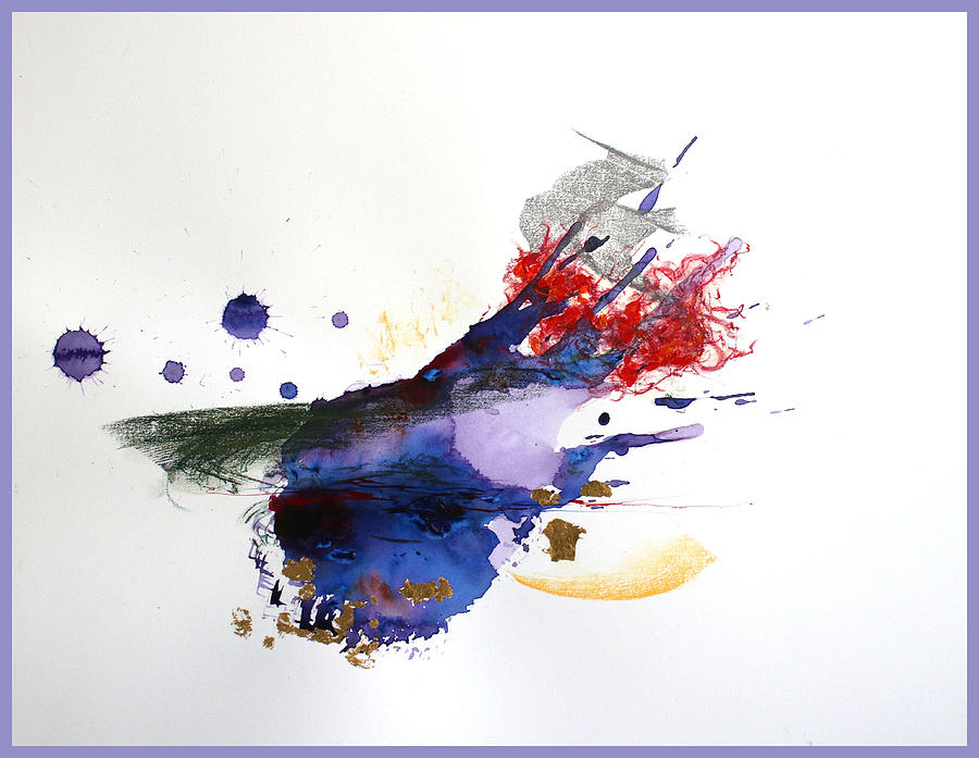 Abstract Expressionism Painting - Emotional by David Wilde