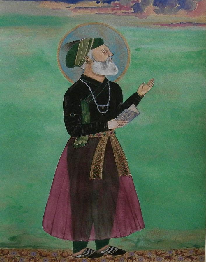 Emperor Aurangzeb by Balkishan Jhumat