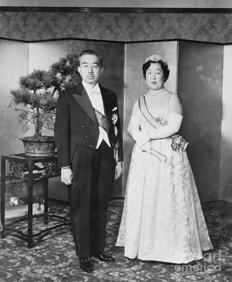 Emperor Hirohito And Empress Nagako Photograph by Bettmann