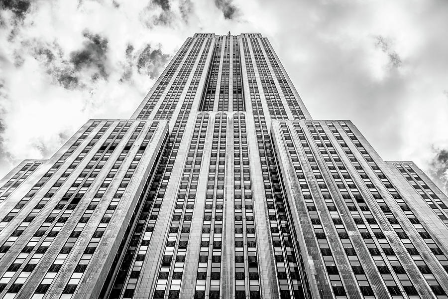 Empire State Building, in black and white. by Ian Robert Knight