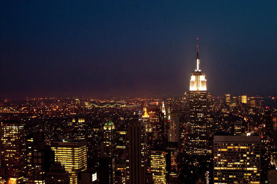 Empire State Building, New York City Photograph by Win-initiative