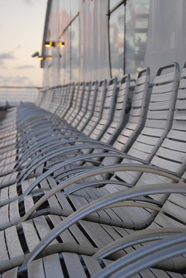 Empty Chairs Photograph by Copyright © Steve Grundy (stgrundy)