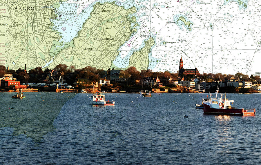 Empty Marblehead Harbor by Jeff Folger