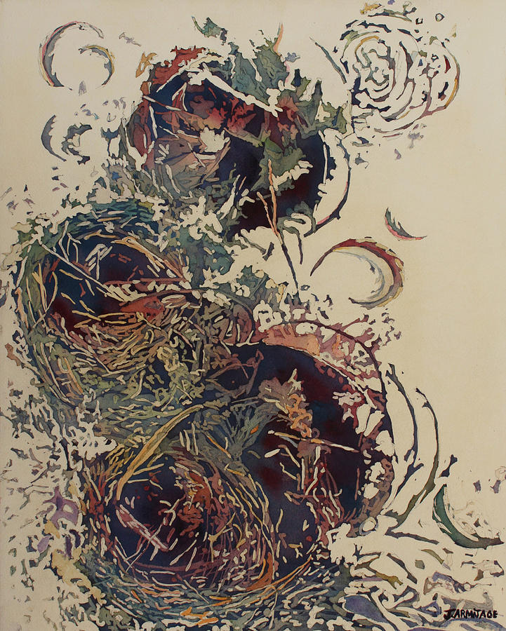 Empty Nest II Up And Out by Jenny Armitage