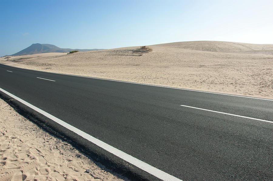 Empty road by Anna Kluba