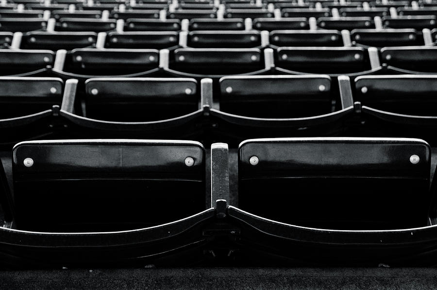 Empty Seats In Outfield Photograph by Flash Parker