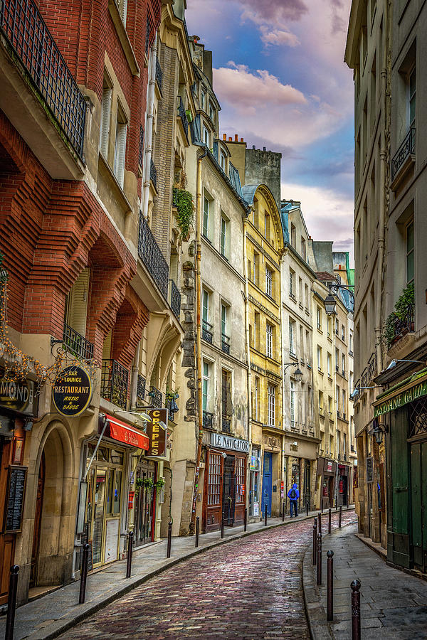 Empty Streets of Paris by Darren White